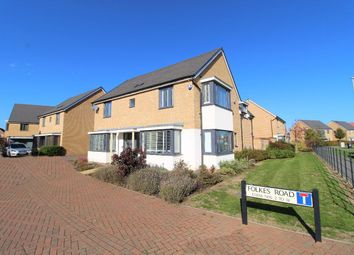 Thumbnail 4 bed detached house for sale in Folkes Road, Wootton, Bedford