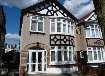 Thumbnail 3 bed semi-detached house for sale in Queenborough Gardens, Gants Hill