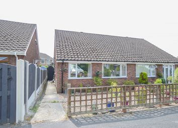 Thumbnail 2 bed semi-detached bungalow for sale in Rother Avenue, Brimington, Chesterfield
