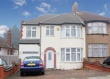 Thumbnail 4 bed semi-detached house for sale in Dovedale Avenue, Clayhall, Essex