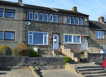 Thumbnail 2 bed terraced house for sale in Radcliffe Road, Golcar, Huddersfield