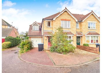 Thumbnail 6 bed semi-detached house for sale in Nightingale Shott, Egham, Surrey