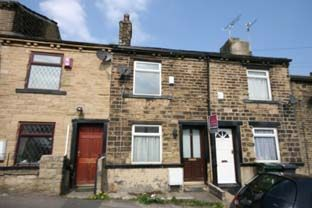 Thumbnail 1 bed terraced house to rent in Chapel Street, Eccleshill