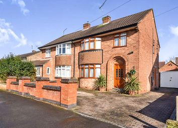 Thumbnail 3 bed semi-detached house for sale in Buxton Drive, Mickleover, Derby