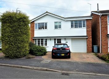 Thumbnail 4 bed detached house for sale in Beech Close, Peterborough