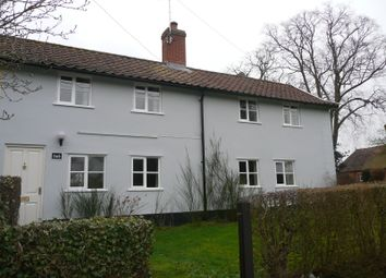 Thumbnail 3 bed end terrace house to rent in The Street, Shotesham All Saints, Norwich
