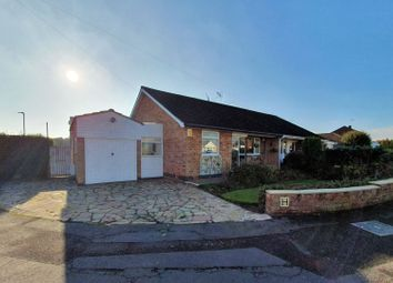 Thumbnail 2 bed bungalow for sale in Fern Crescent, Leicester