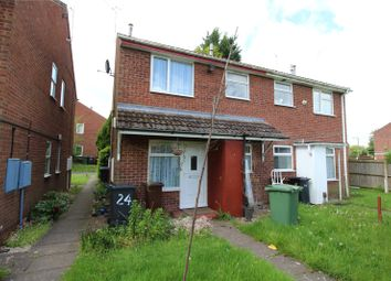 Thumbnail 1 bedroom town house to rent in Marholm Close, Pendeford, Wolverhampton