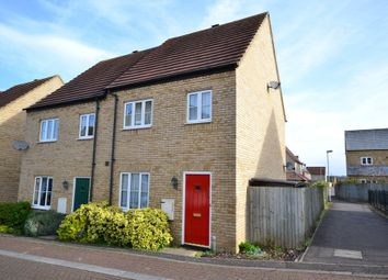 Thumbnail 3 bed semi-detached house to rent in Brooke Grove, Ely