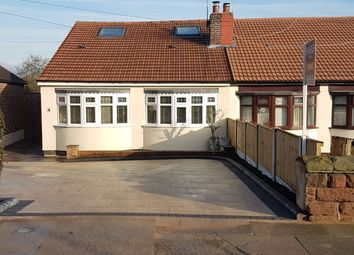 Thumbnail 2 bed semi-detached bungalow for sale in Grange Lane, Gateacre, Liverpool