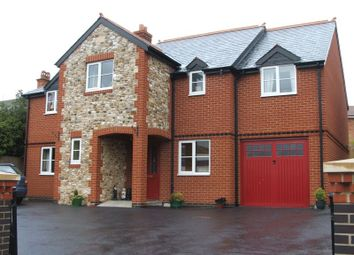 Thumbnail 4 bed detached house for sale in Station Road, Hemyock, Cullompton