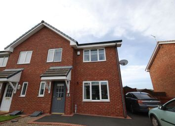 Thumbnail 3 bed semi-detached house for sale in Latimer Way, Newbiggin-By-The-Sea