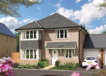 "Thumbnail 4 bed detached house for sale in ""The Canterbury"" at Bradley Road, Bovey Tracey, Newton Abbot"