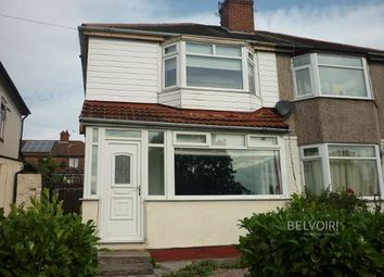 Thumbnail 2 bed semi-detached house for sale in Wood Lane, Huyton, Liverpool