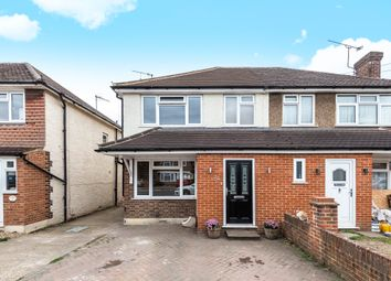Thumbnail 5 bed semi-detached house for sale in Selwood Road, Woking