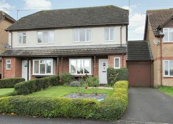 Thumbnail 3 bed semi-detached house for sale in Swallowfields, Andover