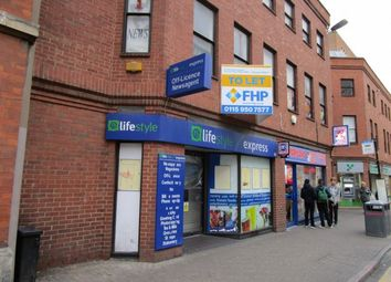 Thumbnail Retail premises to let in 43 Horsefair Street, Leicester, Leicestershire