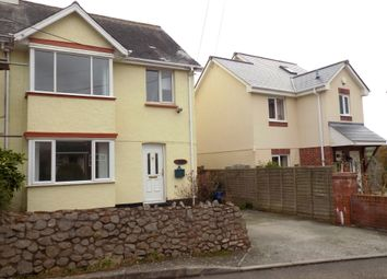 Thumbnail 3 bed semi-detached house for sale in Elm Lane, Exmouth, Devon