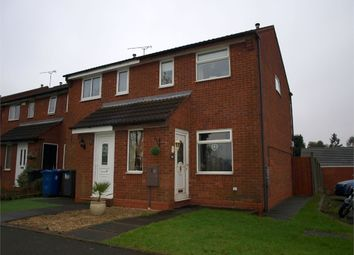 Thumbnail 2 bed end terrace house for sale in Barley Close, Burton-On-Trent, Staffordshire