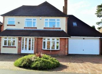 Thumbnail 4 bed detached house to rent in Grosvenor Road, Solihull