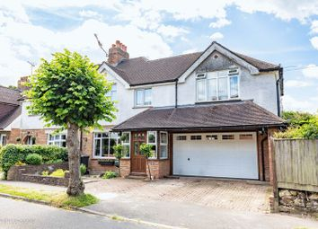 Thumbnail 4 bed semi-detached house for sale in Knole Grove, East Grinstead, West Sussex