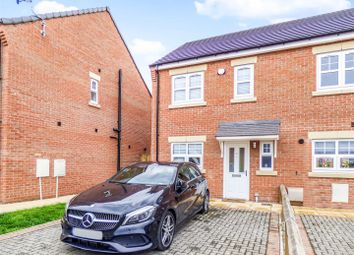 Thumbnail 2 bed semi-detached house for sale in Hickory Court, Beechnut Lane, Pontefract