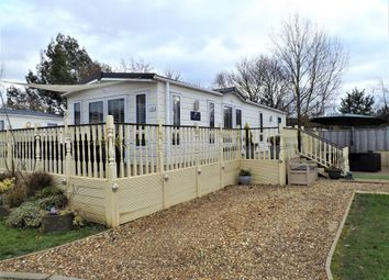 Thumbnail 2 bedroom mobile/park home for sale in Lutton Gowts, Lutton, Spalding