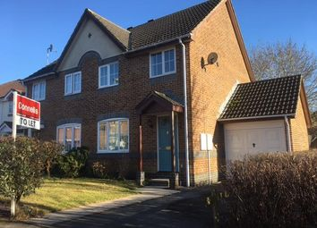 Thumbnail 3 bed semi-detached house to rent in Stoke Heights, Fair Oak, Eastleigh