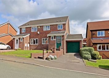Thumbnail 3 bed semi-detached house to rent in Cae Cadno, Church Village, Pontypridd