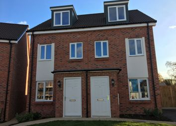 Thumbnail 3 bed semi-detached house for sale in Plot 119, 50 Badger Way, Cranbrook, Devon