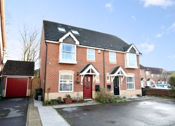 Thumbnail 5 bed semi-detached house for sale in Skylark Court, Southsea