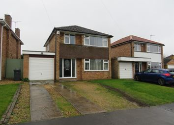 Thumbnail 3 bed detached house for sale in Constable Road, Hillmorton, Rugby