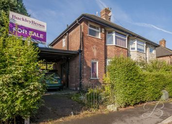 Thumbnail 2 bed semi-detached house for sale in Orville Road, Nottingham