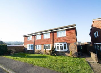 Thumbnail 2 bed flat for sale in Wannock Gardens, Polegate