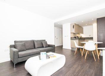 Thumbnail 1 bed flat to rent in Meranti House, Goodmans Fields, London