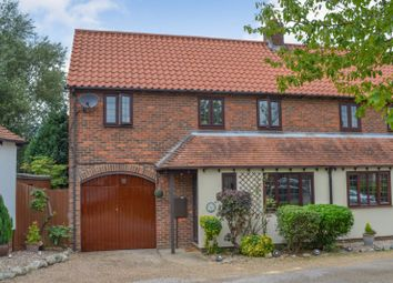 Thumbnail 3 bed semi-detached house for sale in Church Mead, Roydon, Harlow, Essex