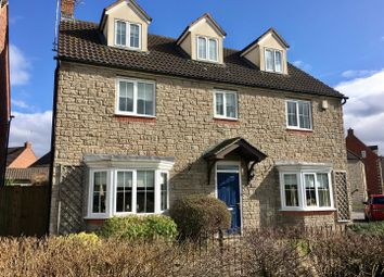 Thumbnail 5 bed detached house for sale in The Causeway, Quedgeley, Gloucester