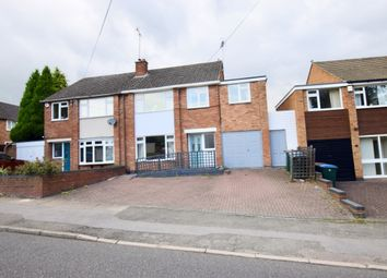Thumbnail 4 bed semi-detached house for sale in Alderminster Road, Mount Nod, Coventry - No Chain