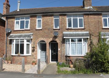 Thumbnail 2 bed terraced house to rent in Cambrai Avenue, Chichester