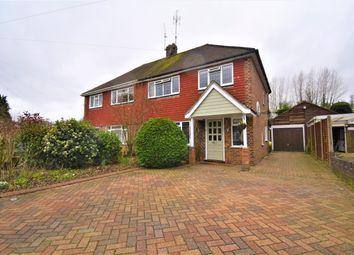 Thumbnail 3 bed semi-detached house for sale in Boxalls Grove, Aldershot