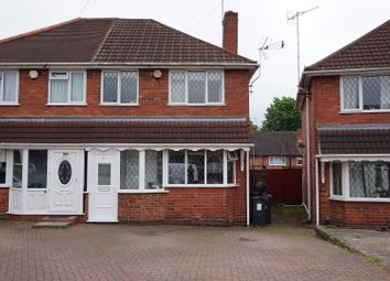 Thumbnail 3 bed semi-detached house for sale in Smalldale Road, Great Barr, Birmingham