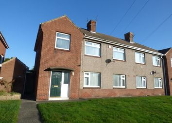 Thumbnail 2 bedroom flat for sale in Elsdon Drive, Ashington