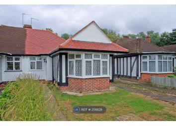 Thumbnail 3 bed bungalow to rent in Cardinal Road, London