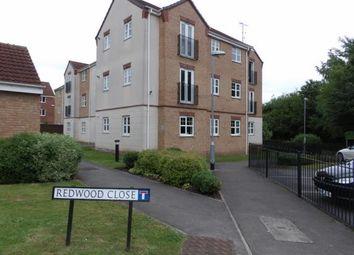 Thumbnail 2 bed flat for sale in Redwood Close, Bilborough, Nottingham, Nottinghamshire