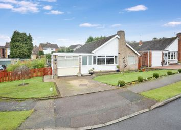 Thumbnail 3 bed bungalow for sale in Frensham Close, Oadby, Leicester