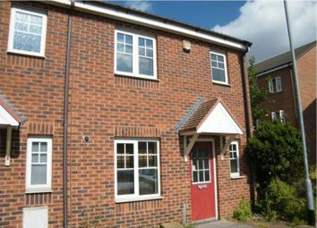Thumbnail 3 bed end terrace house for sale in Dexter Avenue, Grantham