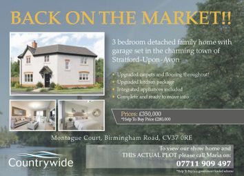 Thumbnail 3 bed detached house for sale in Montague Court, Birmingham Road, Stratford-Upon-Avon