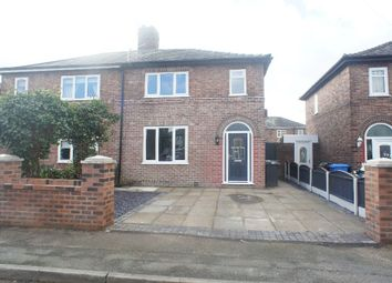 Thumbnail 3 bed semi-detached house for sale in Tilston Avenue, Latchford, Warrington