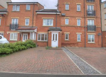 Thumbnail 3 bed town house to rent in Ovett Gardens, St James Village, Gateshead