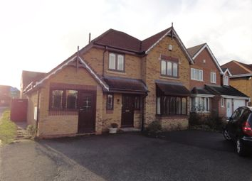 Thumbnail 4 bed detached house to rent in Snowdrop Close, Clayhanger, Walsall
